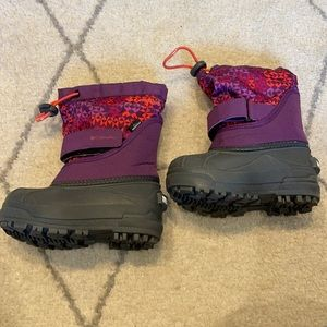 Columbia Girls Winter Boots Size 8
